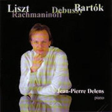 Jean-Pierre Delens – Liszt, Rachmaninoff, Debussy & Bartók