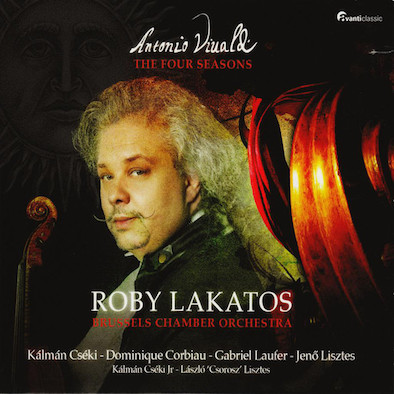 Antonio Vivaldi - Roby Lakatos, Brussels Chamber Orchestra* ‎– The Four Seasons