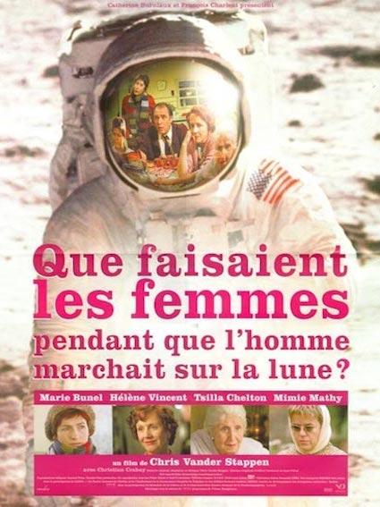 Que faisaient les femmes pendant que l'homme marchait sur la lune?