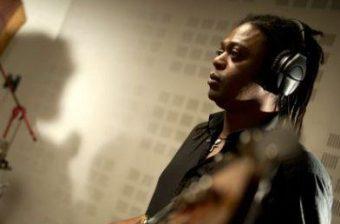 Monika Njava - Recording session at Studio Dada, Brussels